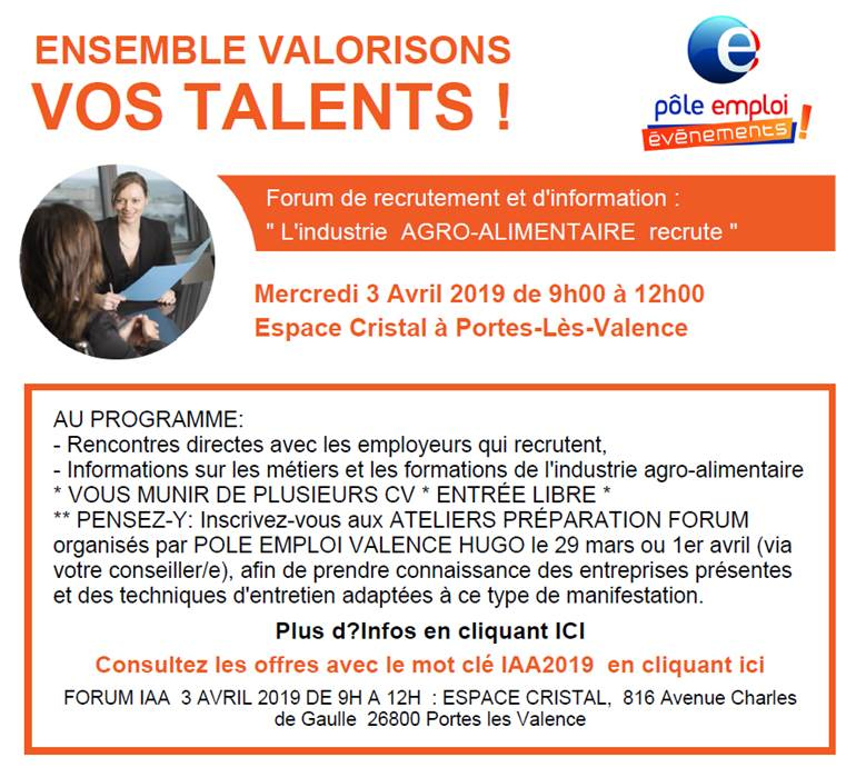 Forum recrutement IAA