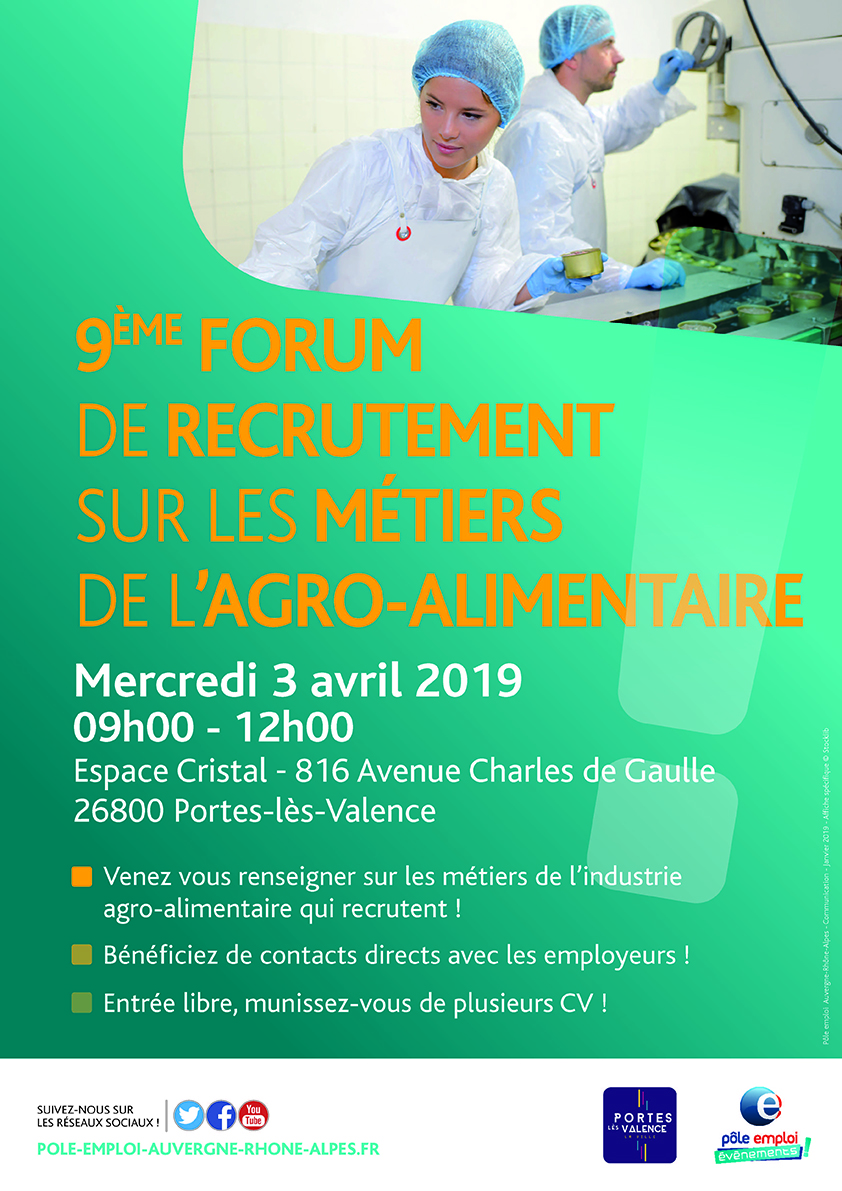 Affiche forum recrutement IAA
