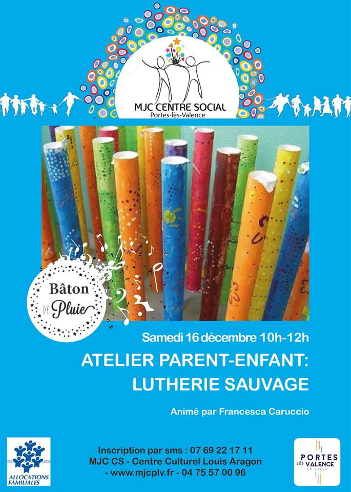 Affiche atelier parents enfants