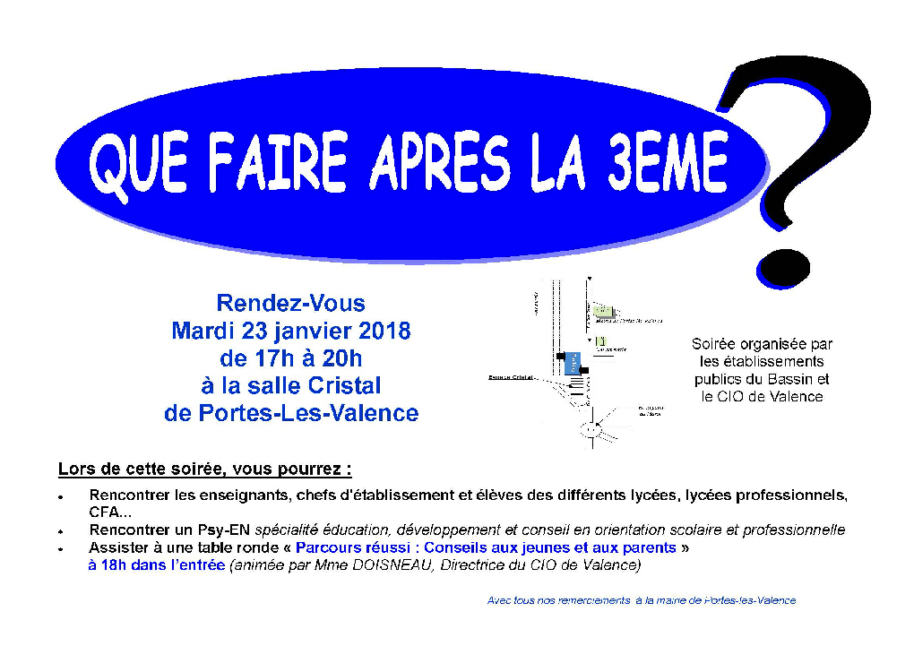 Affiche forum post-bac